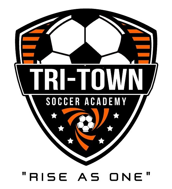 rise as one tri town logo