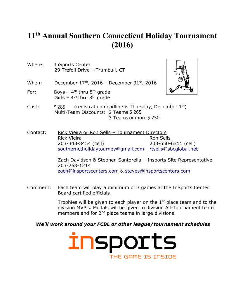 Christian Heritage Holiday Tournament