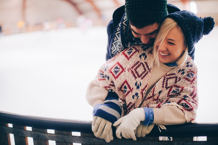 ice skating on valentines day | active date ideas