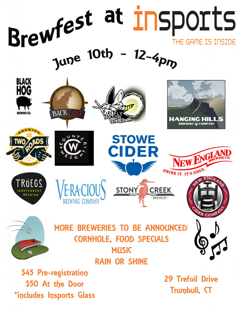 Brewfest Flyer with Brewery Logos